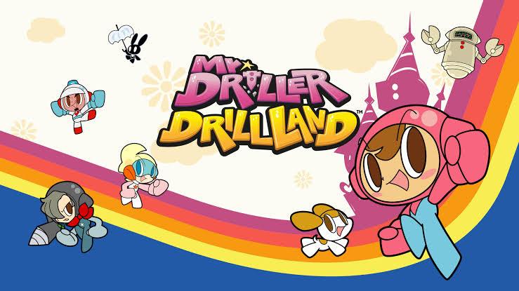 Mr. Driller DrillLand aparentemente terá edição física na Europa