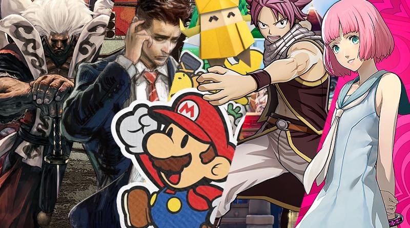 Lançamentos em formato físico para o Nintendo Switch no mês de Julho