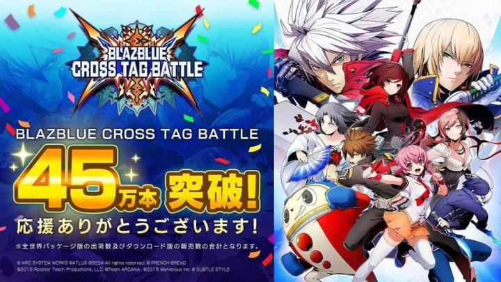 BlazBlue: Cross Tag Battle ultrapassa 450.000 unidades vendidas no mundo inteiro