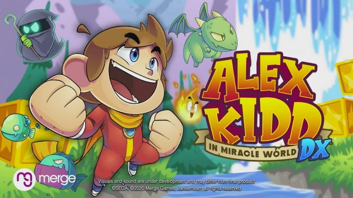 Merge Games anuncia Alex Kidd in Miracle World DX para o Nintendo Switch