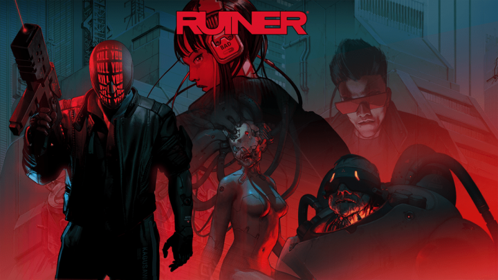 Jogo de ação brutal com visão top-down Ruiner chega na próxima semana através da eShop do Nintendo Switch, trailer