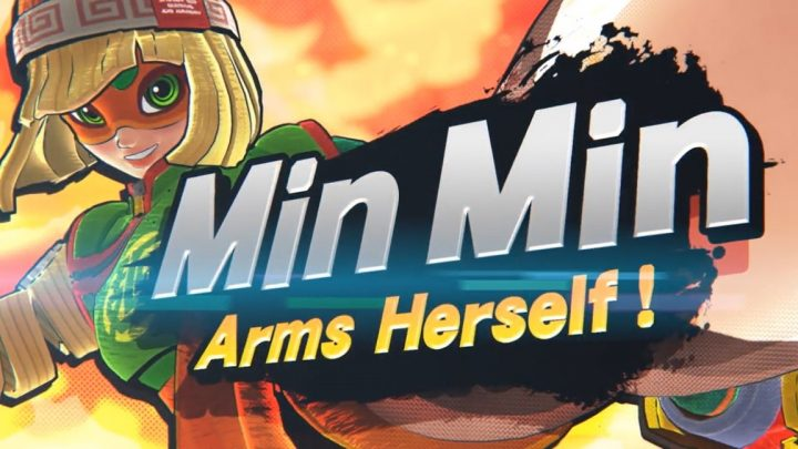 Super Smash Bros. Ultimate  – Min Min, de ARMS, é nova lutadora que chega como parte do Fighters Pass Vol. 2