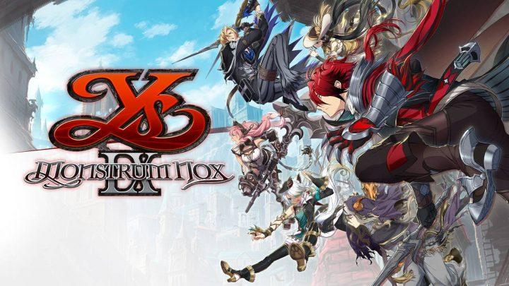 NIS America anuncia o RPG de ação Ys IX: Monstrum Nox para o Nintendo Switch