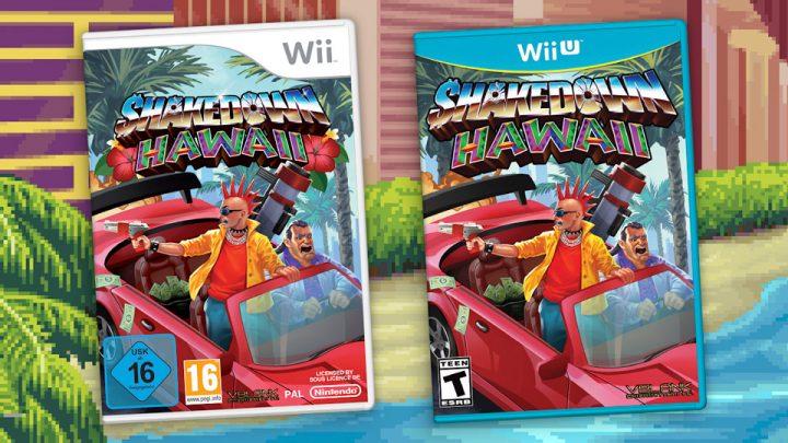 Vblank Entertainment anuncia Shakedown: Hawaii para o Wii e Wii U