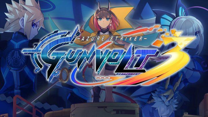 Inti Creates anuncia Azure Striker Gunvolt 3 para o Nintendo Switch
