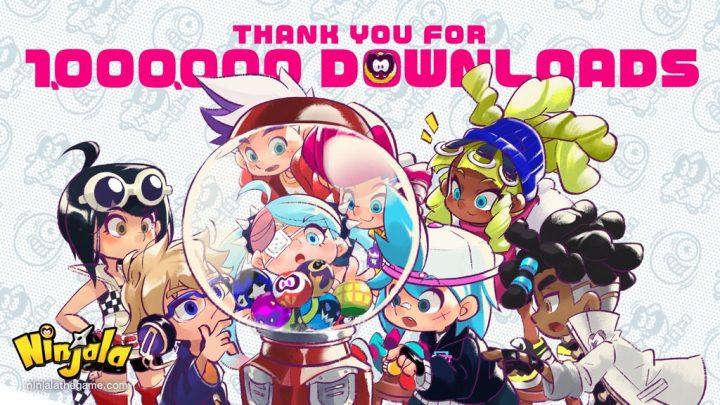 Ninjala ultrapassa 1 milhão de downloads