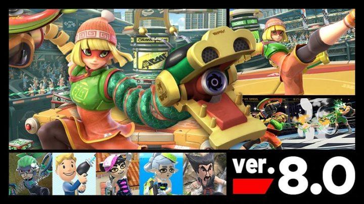 Super Smash Bros. Ultimate – Nova atualização (ver. 8.0.0) que adiciona a personagem de DLC Min Min e outras adições já está disponível