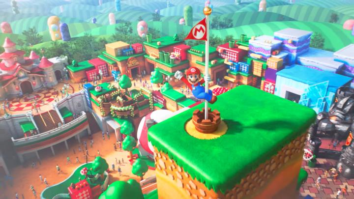 """Comcast diz que o parque temático da Nintendo, o Super Nintendo World, """"deve abrir ainda este ano"""""""