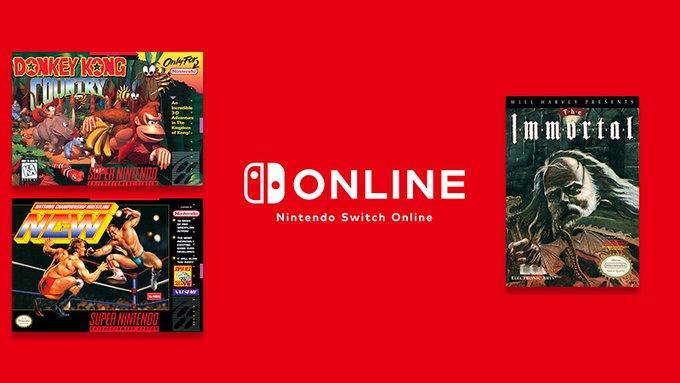 NES & SNES: Nintendo Switch Online – Donkey Kong Country, Shin Megami Tensei, Natsume Championship Wrestling, Gun-Dec e The Immortal chegam na próxima semana