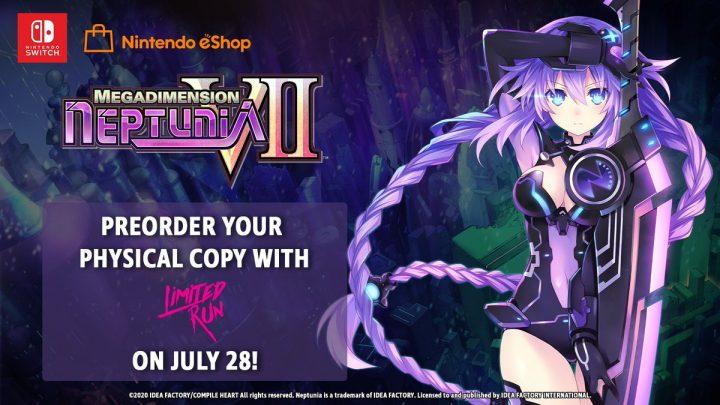 Megadimension Neptunia VII ganhará edição física pela Limited Run Games na América do Norte; Versão digital estará com 20% de desconto em seu lançamento