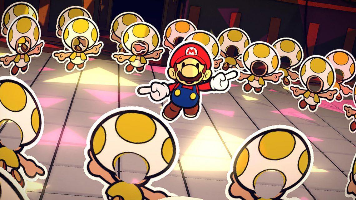 Kensuke Tanabe, produtor de Paper Mario: The Origami King, detalha as restrições impostas pela Nintendo sobre os NPCs da série