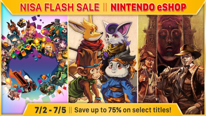 NISA Flash Sale – Aproveite até 75% de desconto na eShop em jogos como Kemono Heroes, La-Mulana, Lapis x Labyrinth, entre outros