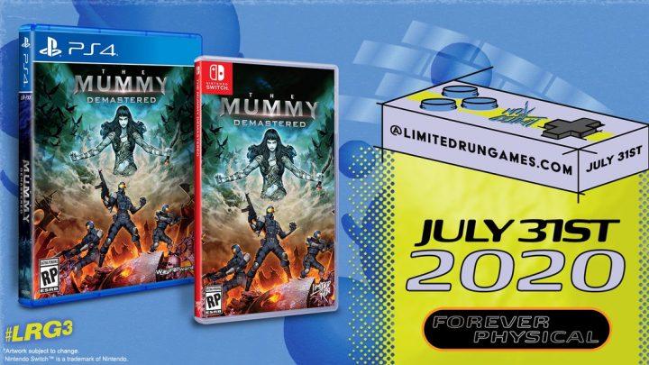 Metroidvania The Mummy Demastered está ganhando edição física na América do Norte pela Limited Run Games