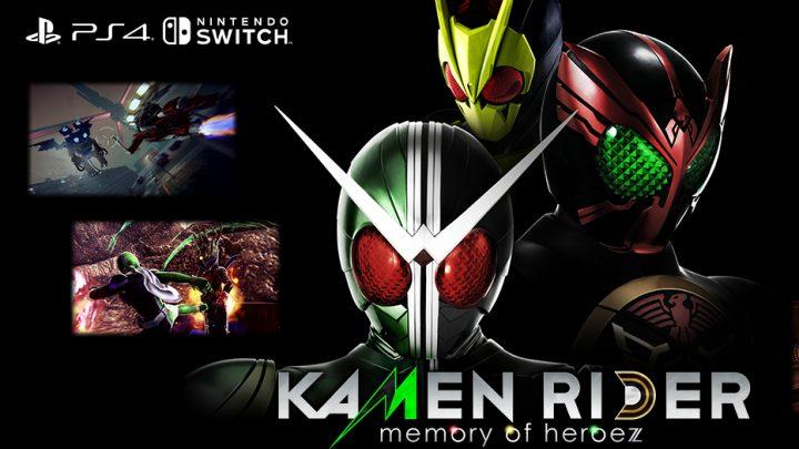 Bandai Namco anuncia Kamen Rider: Memory of Heroez para o Nintendo Switch