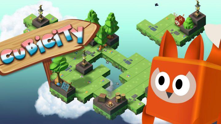 OverGamez anuncia o jogo de aventura baseado em cubos Cubicity para o Nintendo Switch