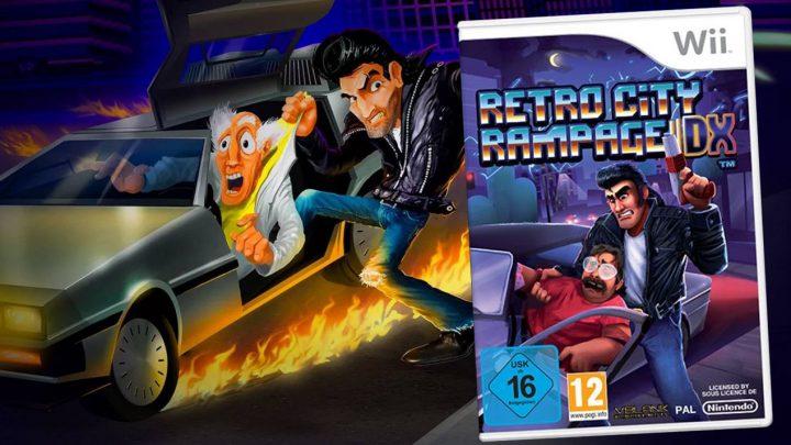 """Retro City Rampage DX está ganhando edição física para o Wii; Atualização """"Retro City Rampage DX+"""" já está disponível no Switch e 3DS"""