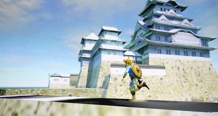 Curiosidade: Testes de desenvolvimento de The Legend of Zelda: Breath of the Wild mostram Link em vários locais do Japão