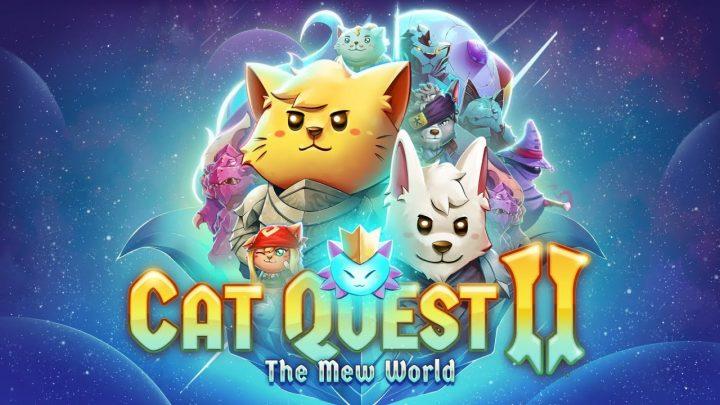 """Série Cat Quest já conta com 1.3 milhões de unidades vendidas; Atualização """"The Mew World"""" já esta disponível em Cat Quest II"""
