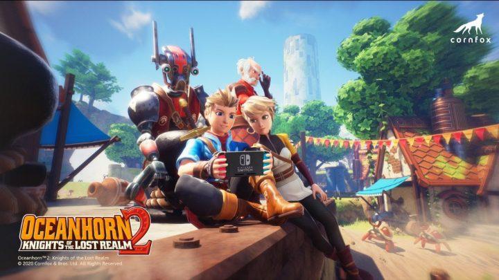 Cornfox & Brothers anuncia o RPG de ação Oceanhorn 2: Knights of the Lost Realm para o Nintendo Switch