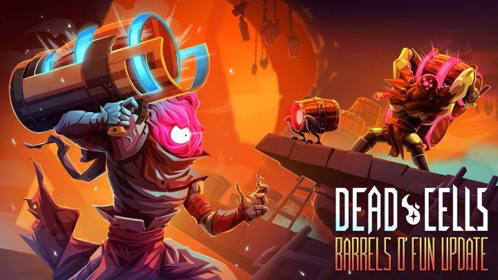 """Dead Cells – Nova atualização gratuita """"Barrels o 'Fun"""" está a caminho do Nintendo Switch, incluirá um novo bioma, novos inimigos, novas armas e muito mais"""