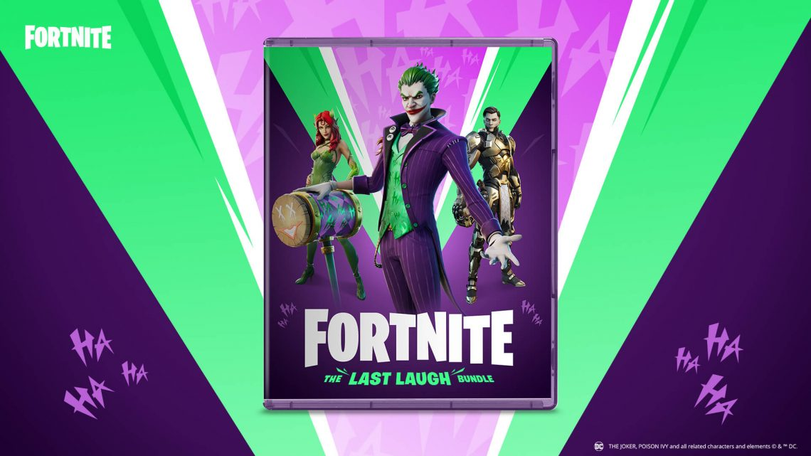 Warner Bros. Interactive e Epic Games anunciam Fortnite: The Last Laugh Bundle para o Nintendo Switch