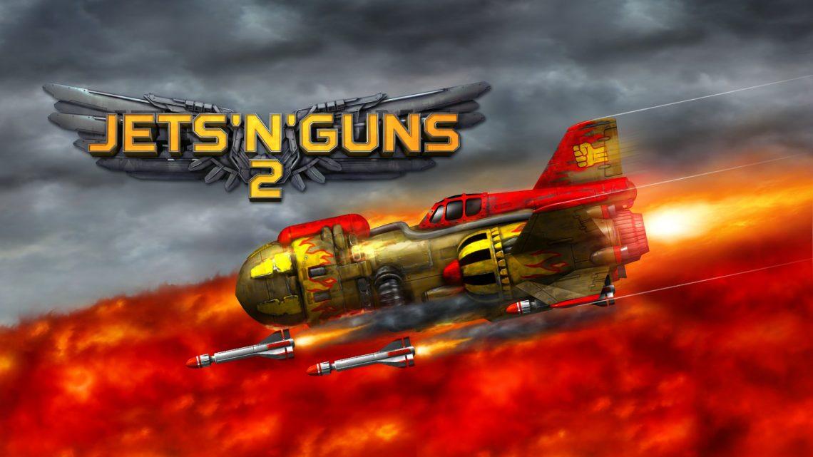 Rake in Grass anuncia o shooter side-scrolling Jets 'n' Guns 2 para o Nintendo Switch