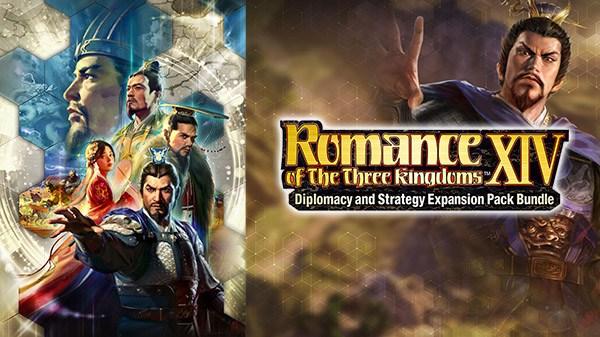 Koei Tecmo anuncia Romance of the Three Kingdoms XIV: Diplomacy and Strategy Expansion Pack Bundle para o Nintendo Switch