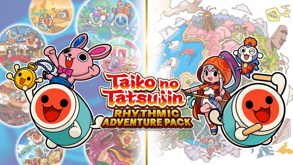Bandai Namco anuncia Taiko no Tatsujin: Rhythmic Adventure Pack para o Nintendo Switch