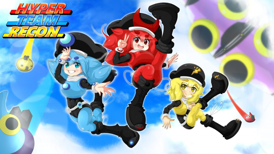 Top Hat Studios anuncia o jogo de plataforma 3D Hyper Team Recon para o Nintendo Switch