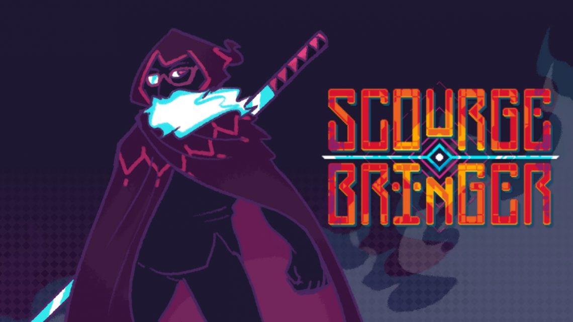 ScourgeBringer, jogo de plataforma roguelite dos criadores de NeuroVoider, chega em outubro no Nintendo Switch
