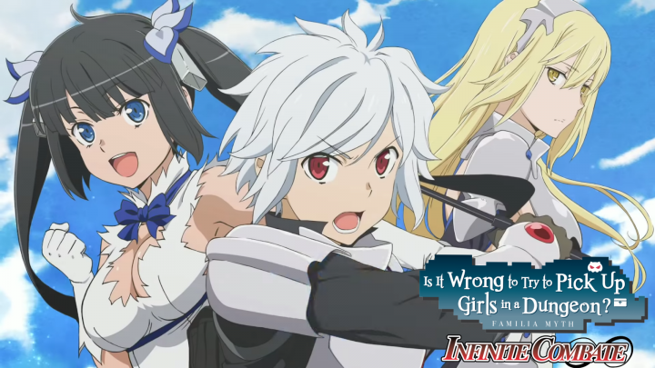 Jogos em formato físico da semana – Is It Wrong To Try To Pick Up Girls In A Dungeon? Infinite Combate, The Coma: Double Cut