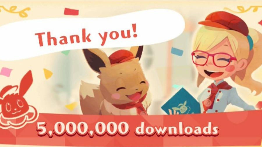 Pokémon Café Mix ultrapassa 5 milhoes de downloads, jogadores receberão um presente especial a partir do dia 30 de agosto