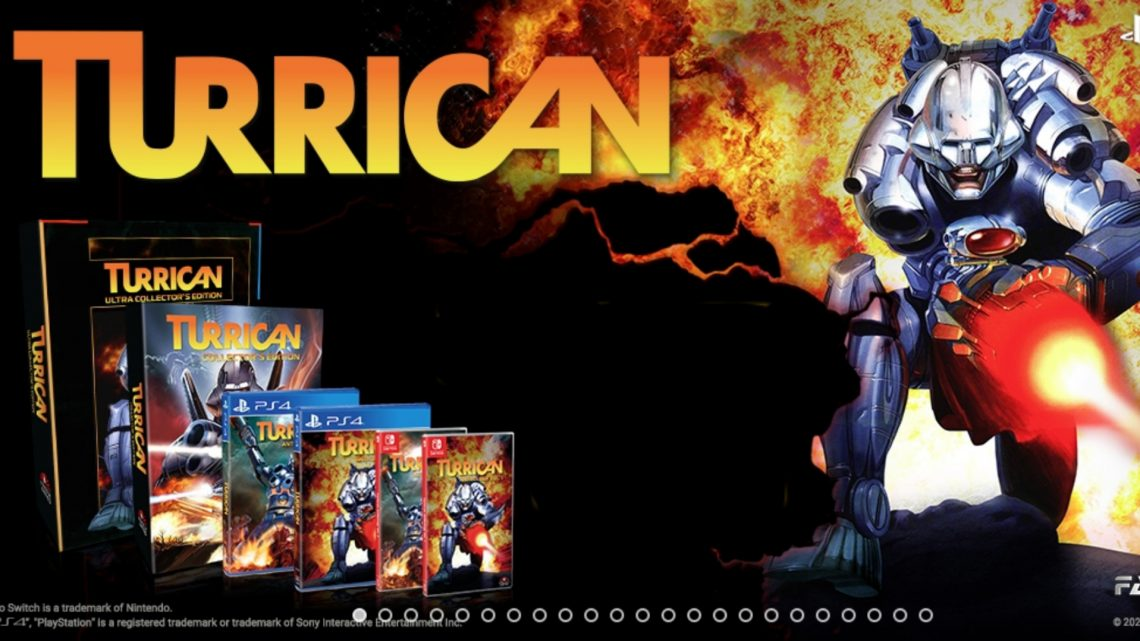 ININ Games anuncia as coletâneas Turrican Anthology Vol. 1 & 2 para o Nintendo Switch
