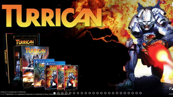 ININ Games anuncia as coletâneas Turrican Anthology Vol. 1 & 2 para o Nintendo Switch