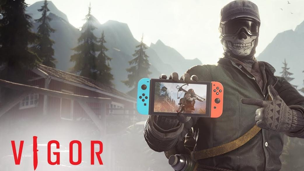 Shoot 'n' loot Vigor receberá versão free-to-play no Nintendo Switch em setembro