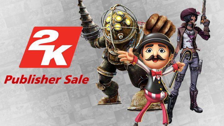 2K Publisher Sale – Aproveite até 80% de desconto na eShop em jogos da série Borderlands e BioShock, XCOM 2 Collection, NBA 2K Playgrounds 2 e mais