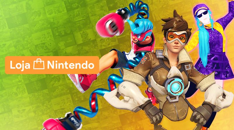 Loja Nintendo Brasil entra em promoção; Confiram os preços