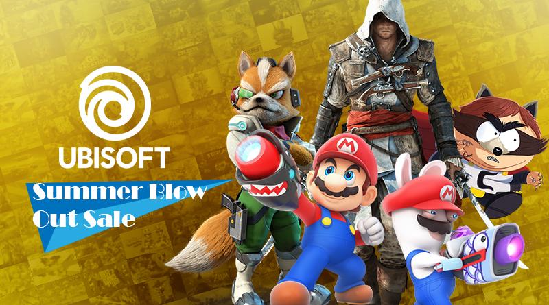 Ubisoft Summer Blow Out Sale – Aproveite até 75% de desconto em jogos como Mario + Rabbids Kingdom Battle, Just Dance 2020, Starlink: Battle for Atlas, e mais