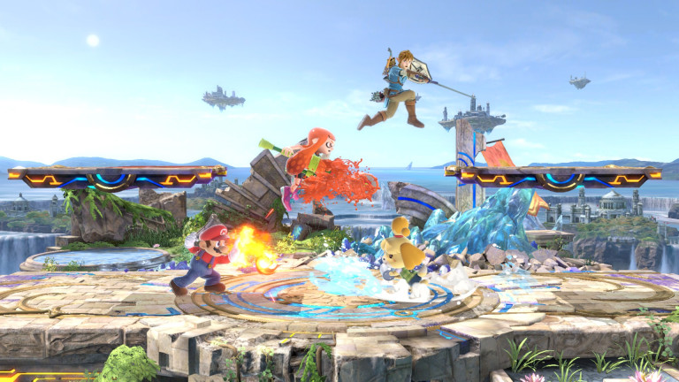 """Super Smash Bros. Ultimate – Nova atualização (8.1.0) já está disponível, adiciona o estágio """"Small Battlefield"""" e mais"""