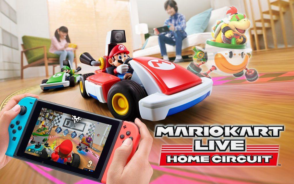Nintendo anuncia Mario Kart Live: Home Circuit para o Nintendo Switch, uma nova experiência Mario Kart usando Karts físicos