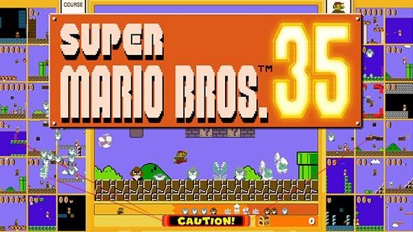 Nintendo anuncia Super Mario Bros. 35, um jogo de batalha online do Mario exclusivo para os assinantes do Nintendo Switch Online