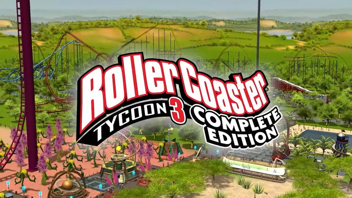 Frontier Foundry anuncia RollerCoaster Tycoon 3: Complete Edition para o Nintendo Switch