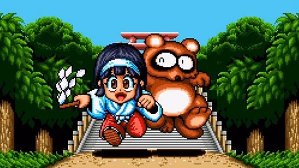 Taito anuncia KiKi KaiKai: Kuro Mantle no Nazo para o Nintendo Switch, sequência do clássico shoot 'em up Pocky & Rocky do SNES