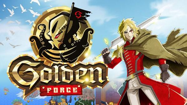 PixelHeart e Just For Games anunciam o jogo de ação e aventura 2D Golden Force para o Nintendo Switch