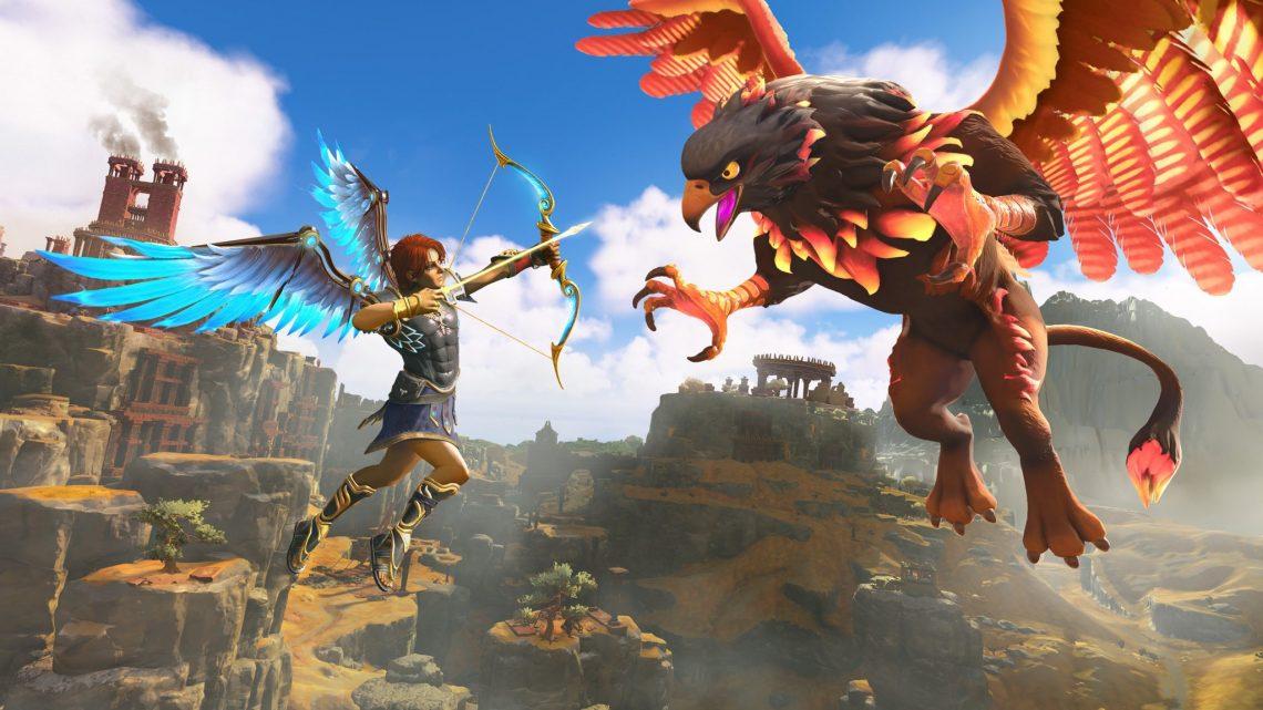 """Diretor de Immortals: Fenyx Rising diz que a Ubisoft mudou o título de """"Gods & Monsters"""" por questões legais envolvendo a Monster Energy"""