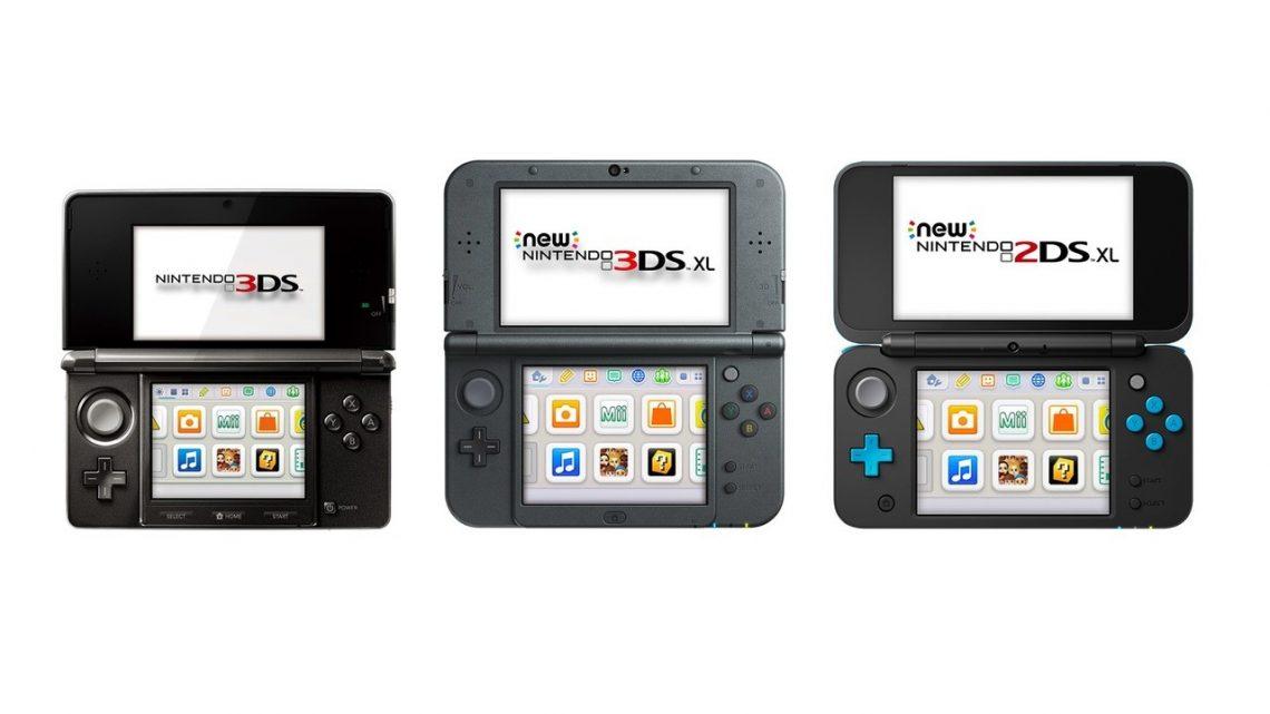 Nintendo encerra produção dos portáteis da família Nintendo 3DS no Japão