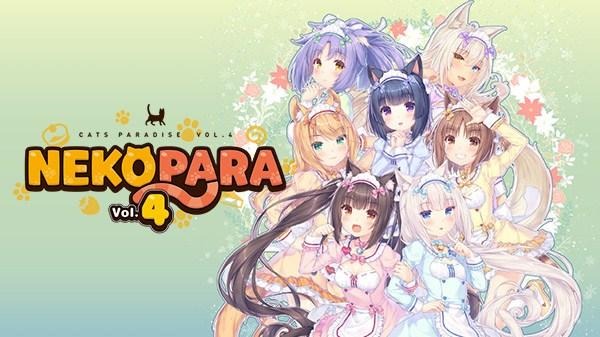 CFK e Neko Works anunciam Nekopara Vol. 4 para o Nintendo Switch