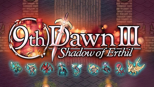 Valorware anuncia o RPG 2D de mundo aberto 9th Dawn III: Shadow of Erthil para o Nintendo Switch