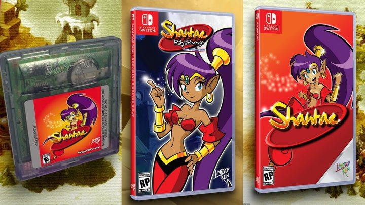 Pré-vendas da edição física de Shantae: Risky's Revenge – Director's Cut e Shantae (2002) se iniciam em 11 de setembro