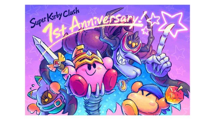 Nintendo celebra primeiro aniversário de Super Kirby Clash com arte especial e código para vários itens no jogo